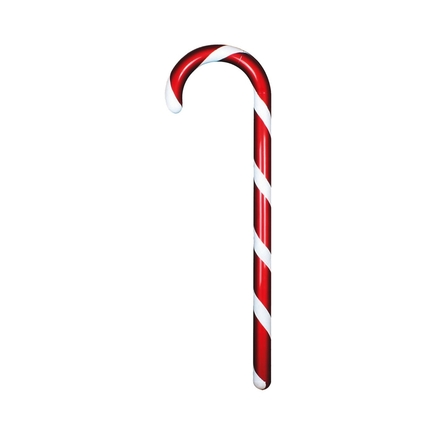 Peppermint Candy Cane 48""