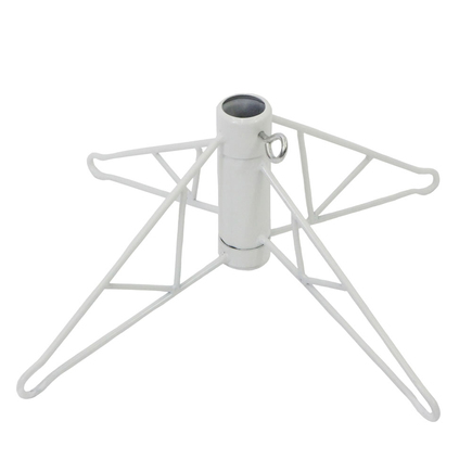 Metal Tree Stand White 10'