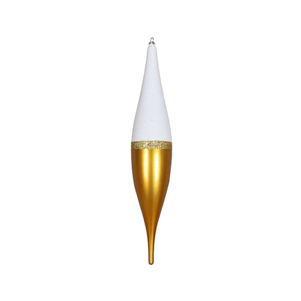 "Neve Large Finial 22"" Gold"