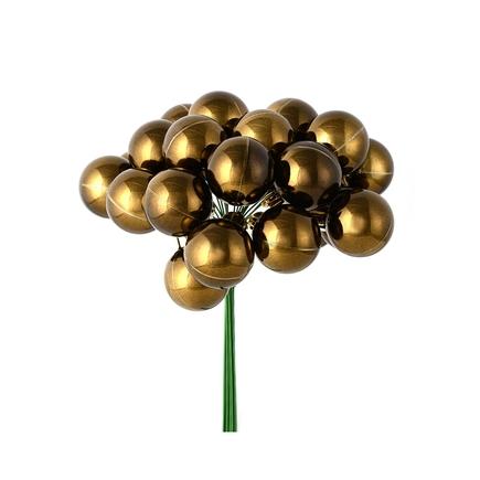 Joy Shiny Ball Pick Set of 2 Truffle