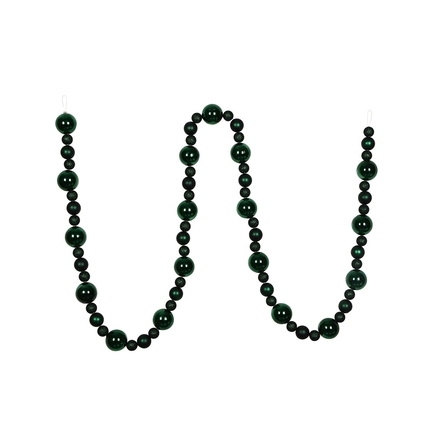 Bella Ball Garland 9' Emerald