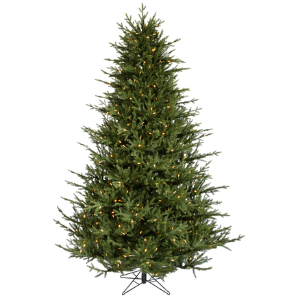 7.5' Nordic Fir Full Warm White LED