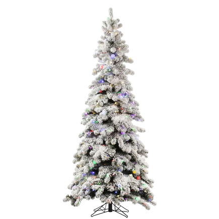7' North Star Spruce Slim Multi LED