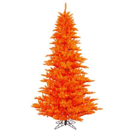 7.5' Orange Fir Full w/ LED Lights