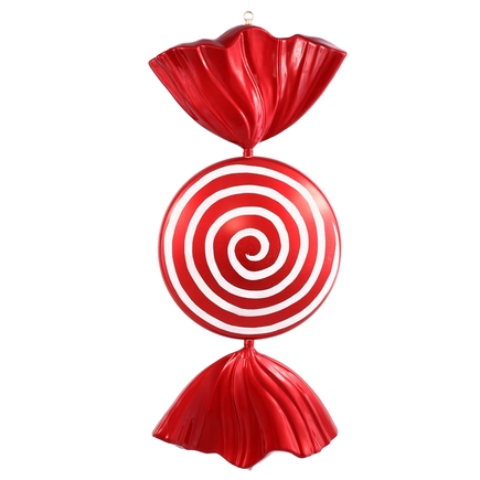 Spiral Candy Ornament 37""
