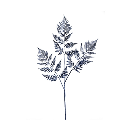 "Fern Spray 42"" Set of 2 Blue"