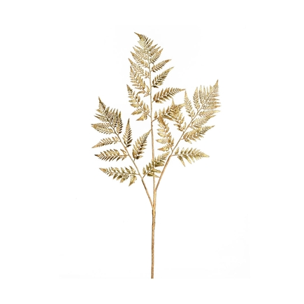 "Fern Spray 42"" Set of 2 Gold"