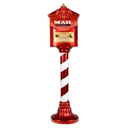 "Outdoor Santa's Mailbox Figure 36"""