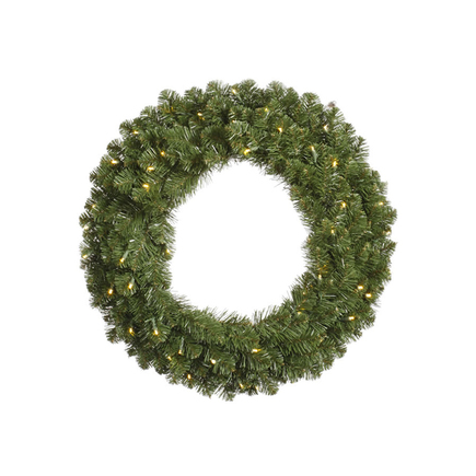 7' Sequoia Wreath LED