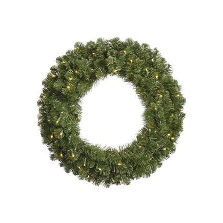 10' Sequoia Wreath Unlit