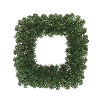 """Square Fir Wreath 30"""""""