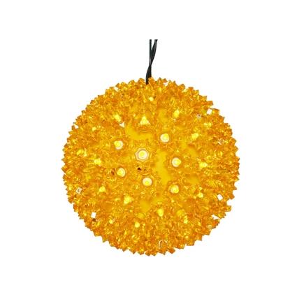 """Starlight Sphere LED Amber 7.5"""""""