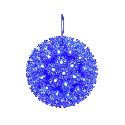 Starlight Sphere LED Blue 7.5""