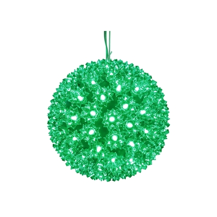 """Starlight Sphere LED Green 7.5"""""""