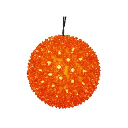 """Starlight Sphere LED Orange 7.5"""""""