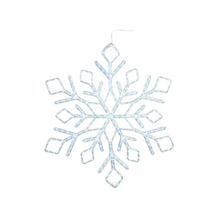 "LED Ropelight Stellar Snowflake 48"""