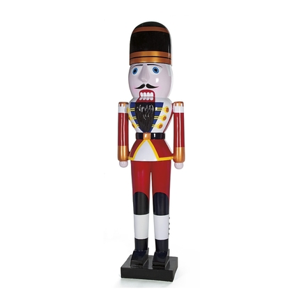 Traditional Nutcracker 8' Red