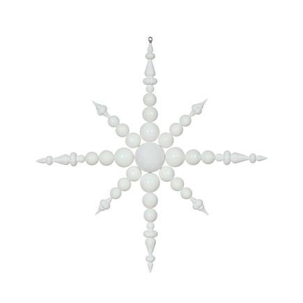 """Venezia Snowflake 43"""" White"""