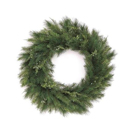 """White Cedar Wreath 30"""""""