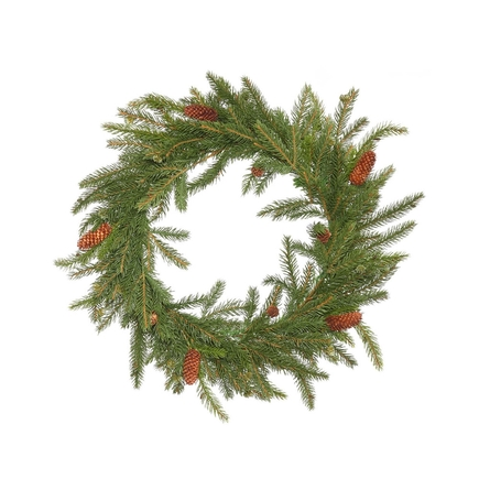 Norway Spruce Wreath 21""