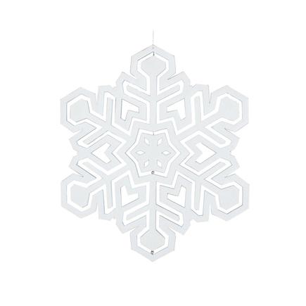 """Winter Snowflake 17"""" White"""