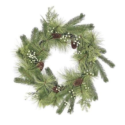 """Woodland Wreath 24"""""""