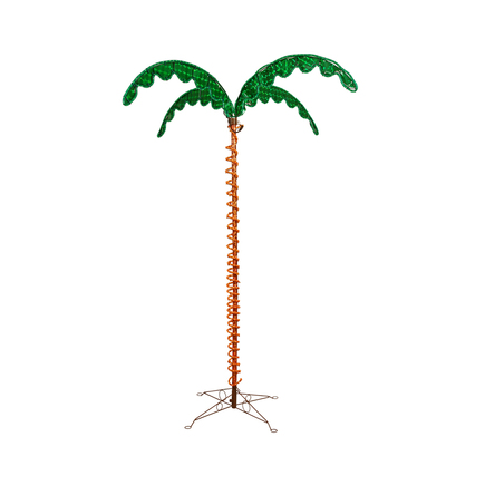 LED Rope Light Palm Tree 7'