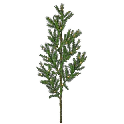"Bristle Pine Branch Prelit 60"" Set of 3"