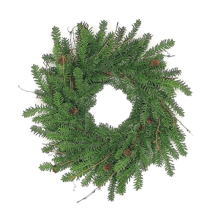 "Mountain Noble Fir Wreath 24"""