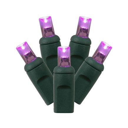 LED Wide Angle 300 Lights Set Purple