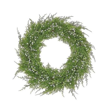 "Juniper Wreath 18"""