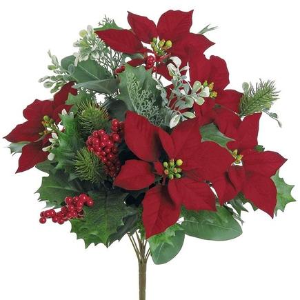 "Christmas Bouquet 20"" Set of 3"