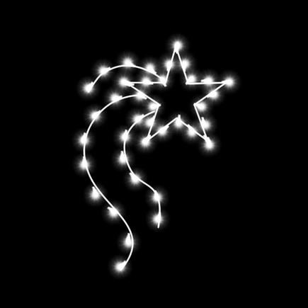 Christmas Star Pole Mount 4'