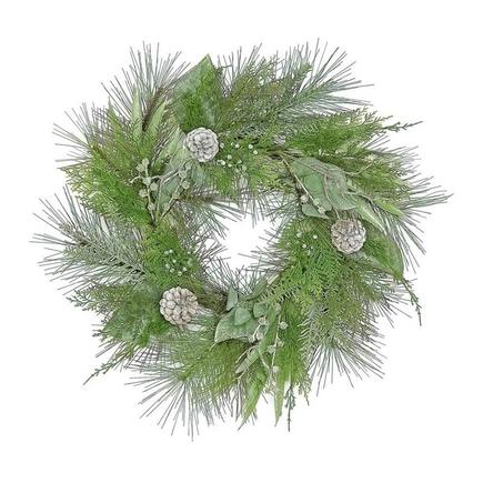 "California Pine Wreath 24"""