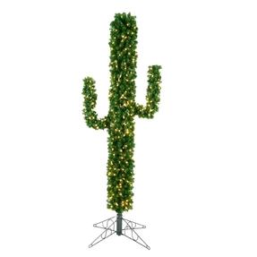 7.5' Christmas Cactus Warm White LED