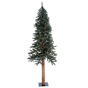 6' Aspen Alpine Tree Warm White LED