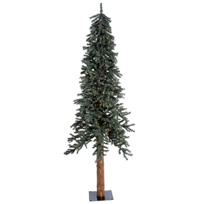 7' Aspen Alpine Tree Warm White LED