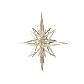 """Bethlehem Glitter Star 32"""" Champagne"""