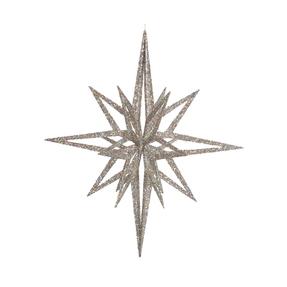 """Bethlehem Glitter Star 12"""" Iridescent"""