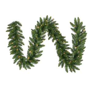 Camdon Fir Garland LED 9' x 12""