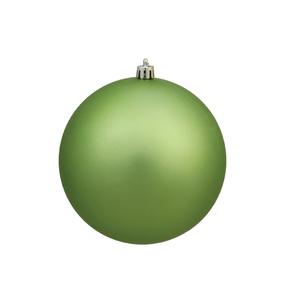 "Celadon Ball Ornaments 8"" Matte Set of 4"