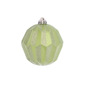"Elara Sphere Ornament 5"" Set of 3 Celadon"