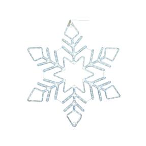 "LED Ropelight Fancy Snowflake 60"""