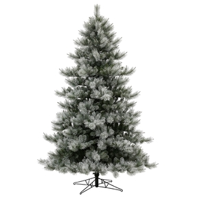7.5' Frosted Sugar Pine Full Unlit