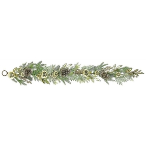 Holiday Elegance Garland 5' Champagne