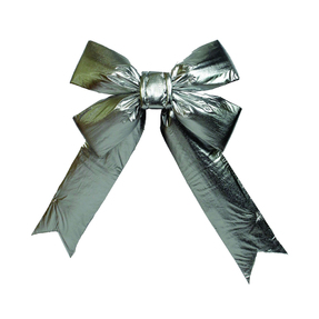 """Indoor Silver Bow 12"""" x 15"""""""
