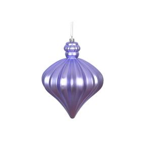 "Isabel Onion Ornament 6"" Set of 4 Lavender"