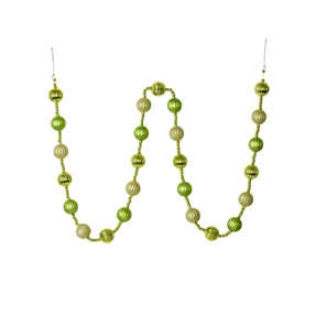 Ivy Ball Garland 6' Celadon