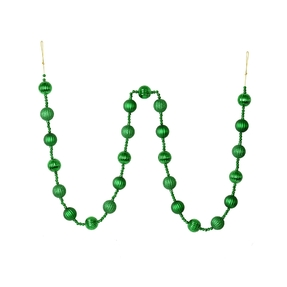 Ivy Ball Garland 6' Green