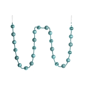 Ivy Ball Garland 6' Ice Blue